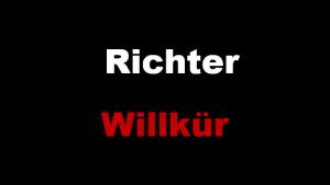 Richter Willkür