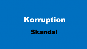 Korruption Skandal