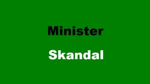 Minister-Skandal