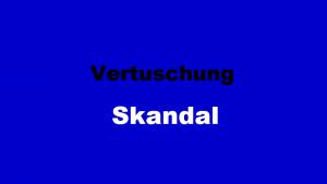 Vertuschung-Skandal