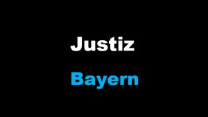 Justiz Bayern