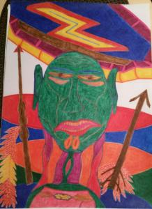 Zeichnung Perez 1