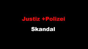 Justiz und Polizei