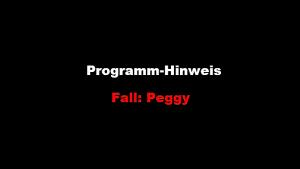 Programm-Hinweis