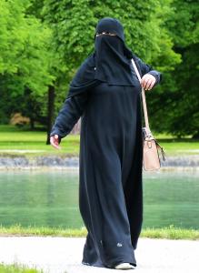 Burka Kopftuch