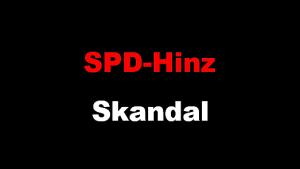 SPD-Hinz Skandal