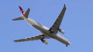 Flugzeug Türkei