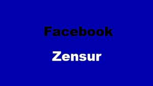 Facebook Zensur