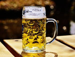 Maß Bierkrug
