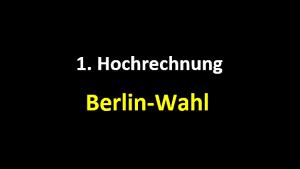 Berlin-Wahl