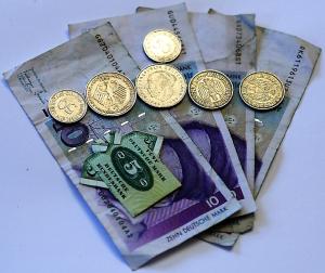 Geld D-Mark