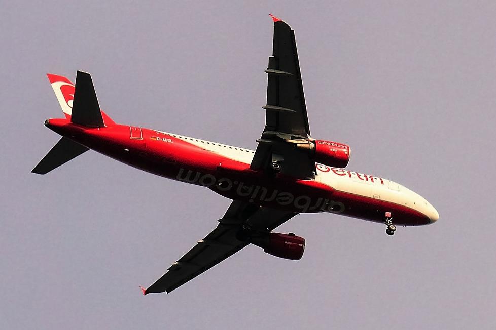 Flugzeug Air-Berlin