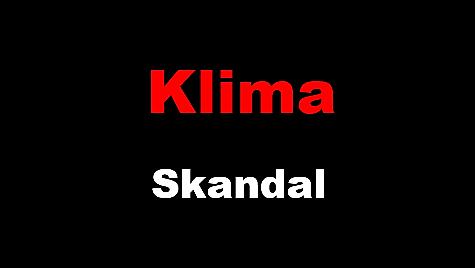 Klima Skandal