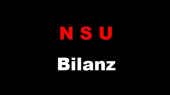 NSU Bilanz