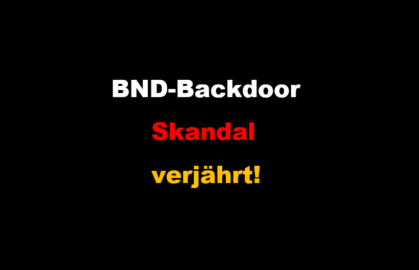 BND Backdoor-Skandal