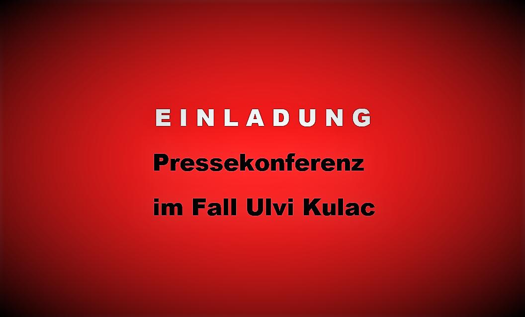 Einladung Pressekonferenz Ulvi Kulac