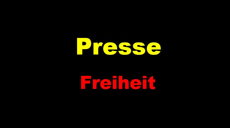 Presse Freiheit