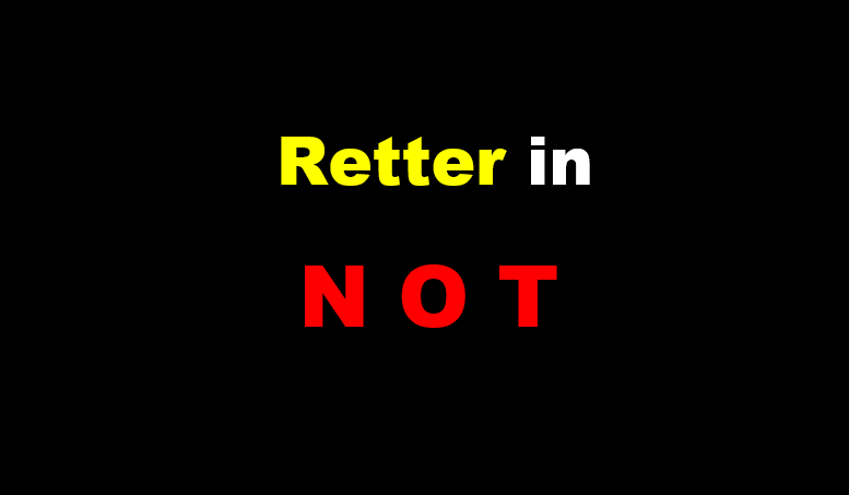 Retter in Not
