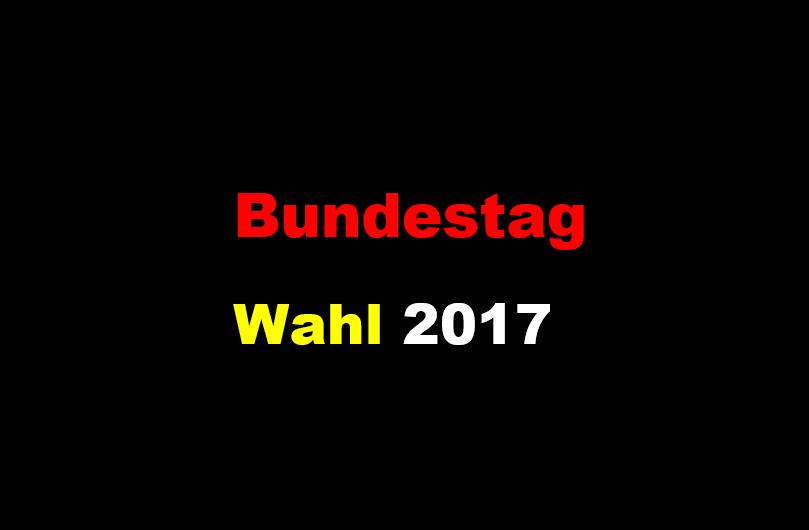 Bundestag-Wahl 2017