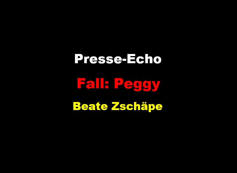 Presse-Echo Peggy Zschäpe