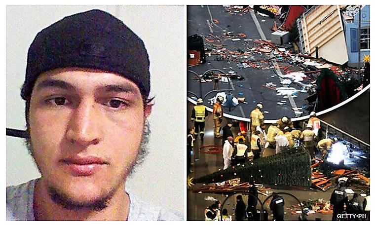 Foto Screenshot: http://www.express.co.uk/news/world/745969/Berlin-Christmas-terror-attack-police-hunt-Tunisian-man
