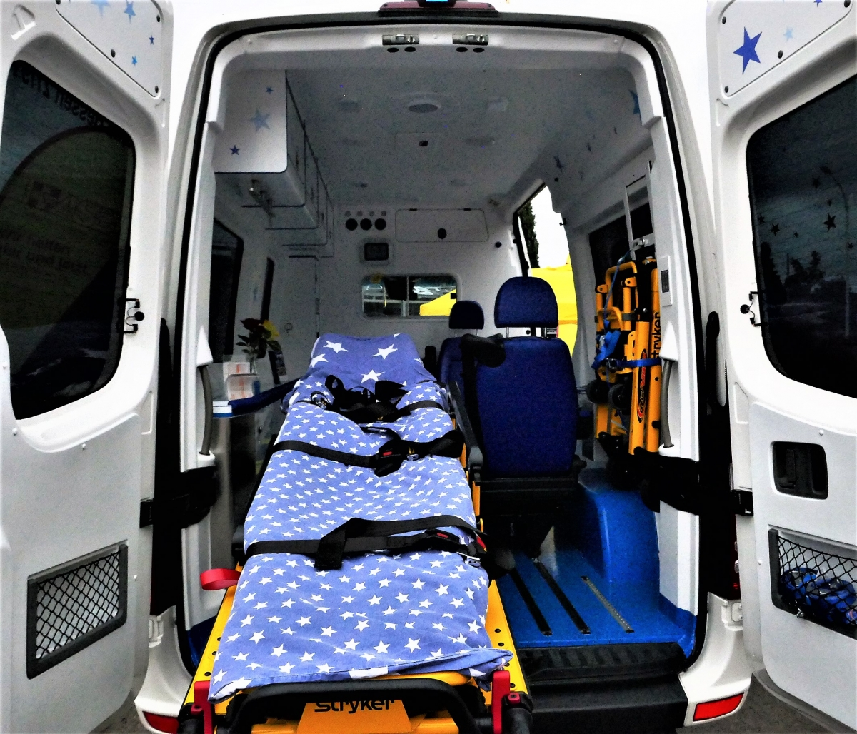 Krankenwagen Rettungsdienst Sani Medizin