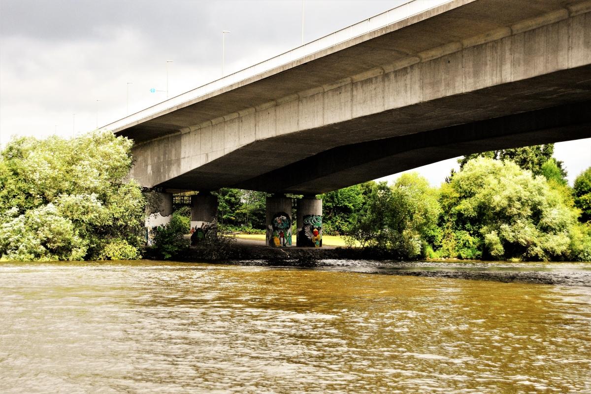 Rüsselsheim Opel-Brücke