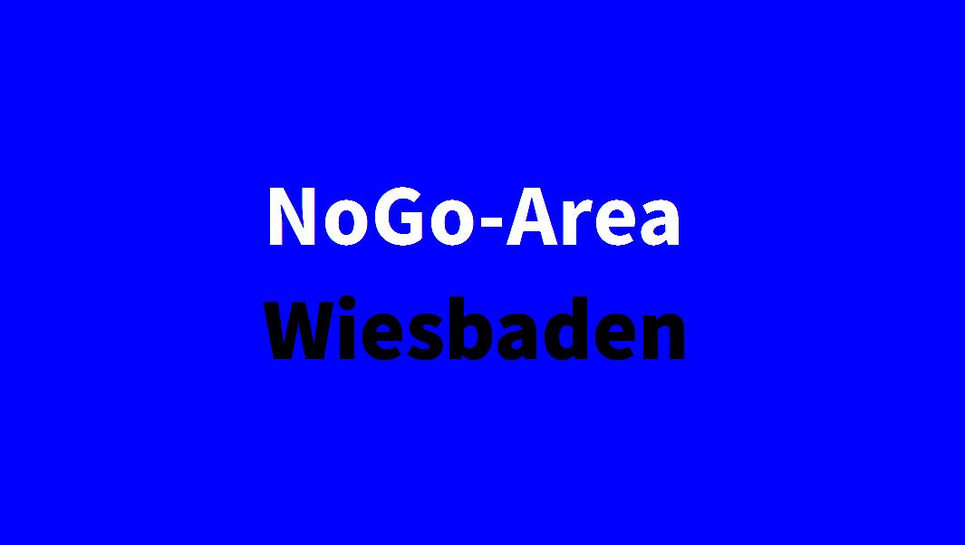 NoGo-Area Wiesbaden