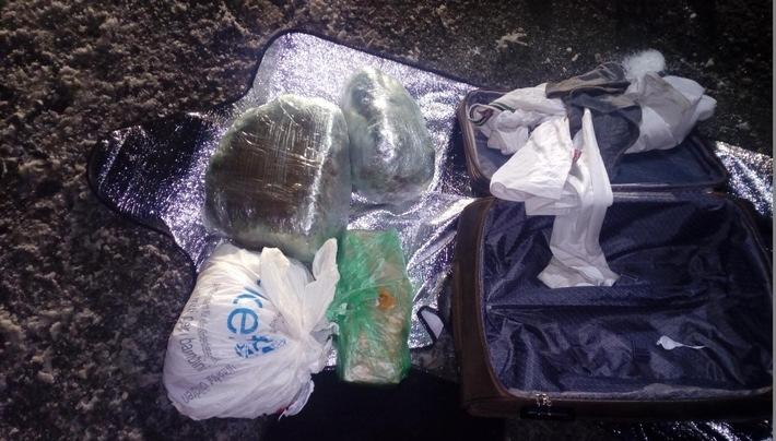 Drogenpakete im Reisegepäck