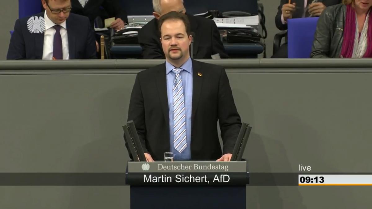 """Screenshot Video """"Deutscher Bundestag"""" vom 19.01.2018"""