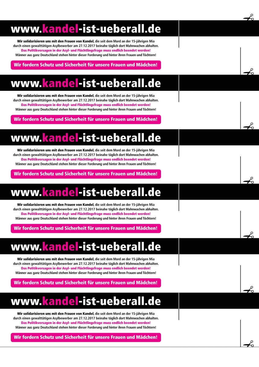 Screenshot: https://twitter.com/Kandelueberall?lang=de