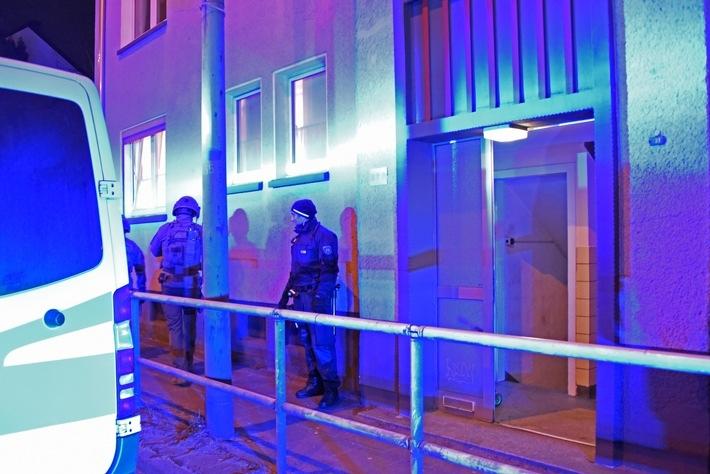 Durchsuchungsmaßnahmen der Polizei