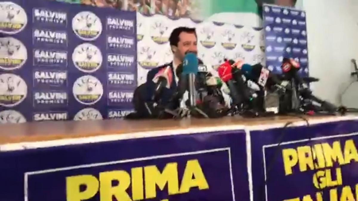 Lega Nord Pressekonfereunz