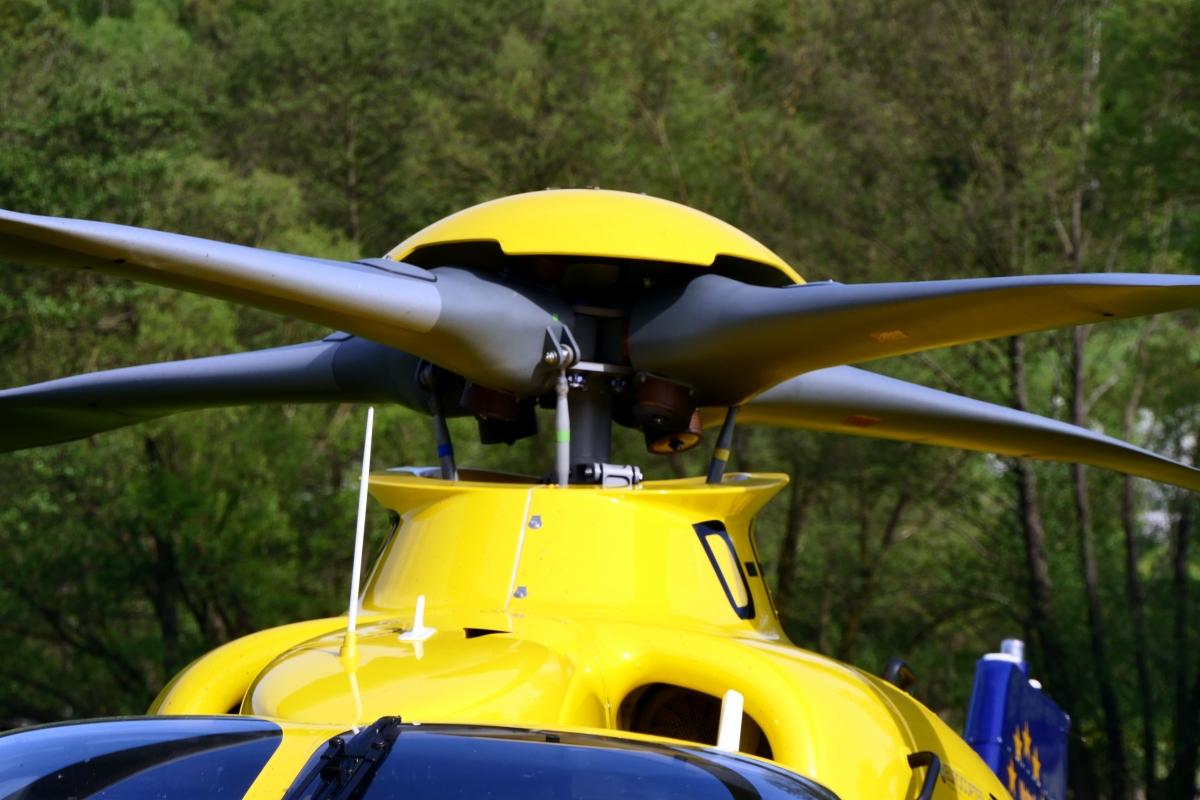 Hubschrauber Rettung