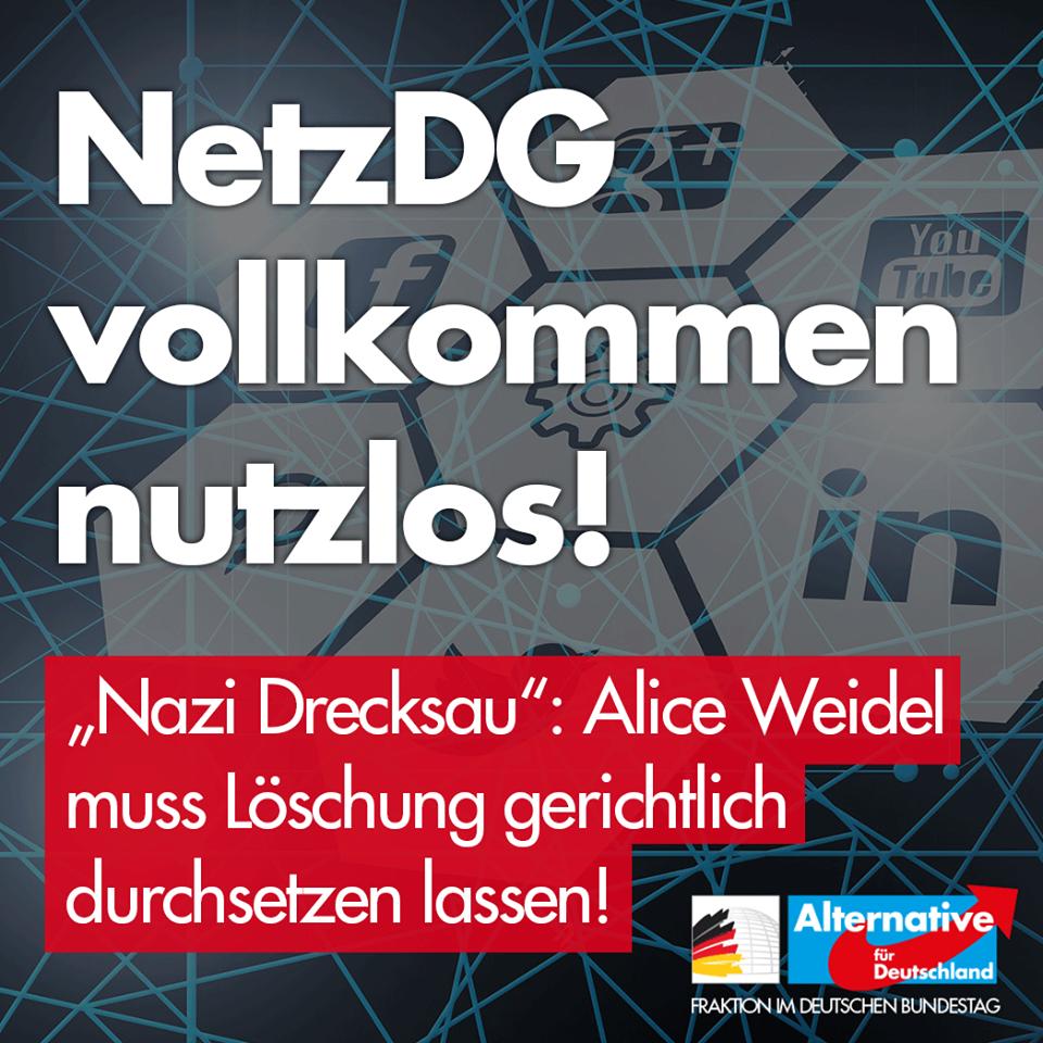 Foto by Screenshot: Facebook - AfD-Fraktion im Deutschen Bundestag