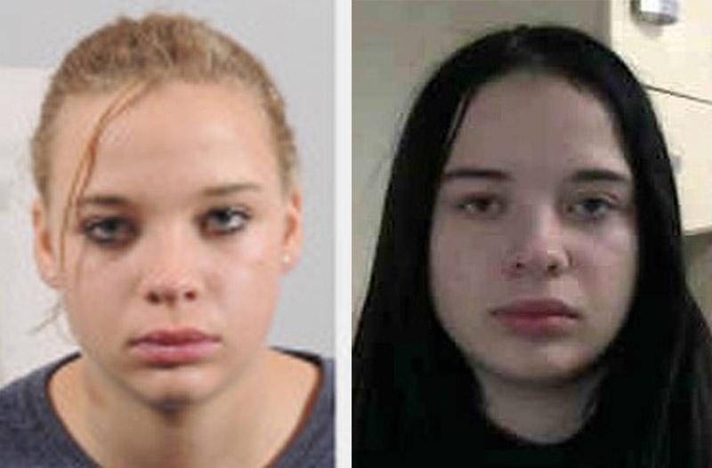 Die Collage zeigt die vermisste Tessa W. einmal mit blonden und einmal mit schwarzen Haaren