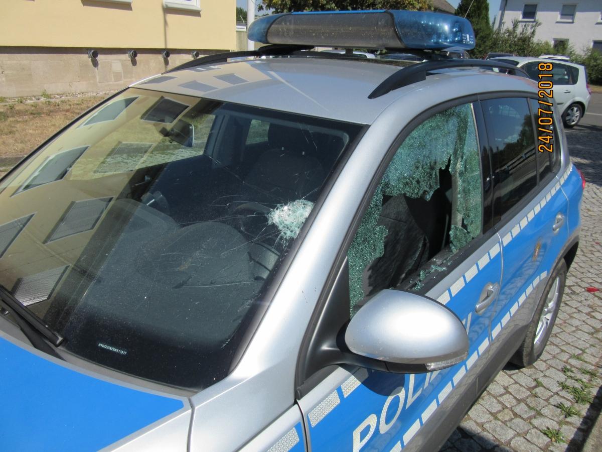 Polizei Hessen Streifenwagen
