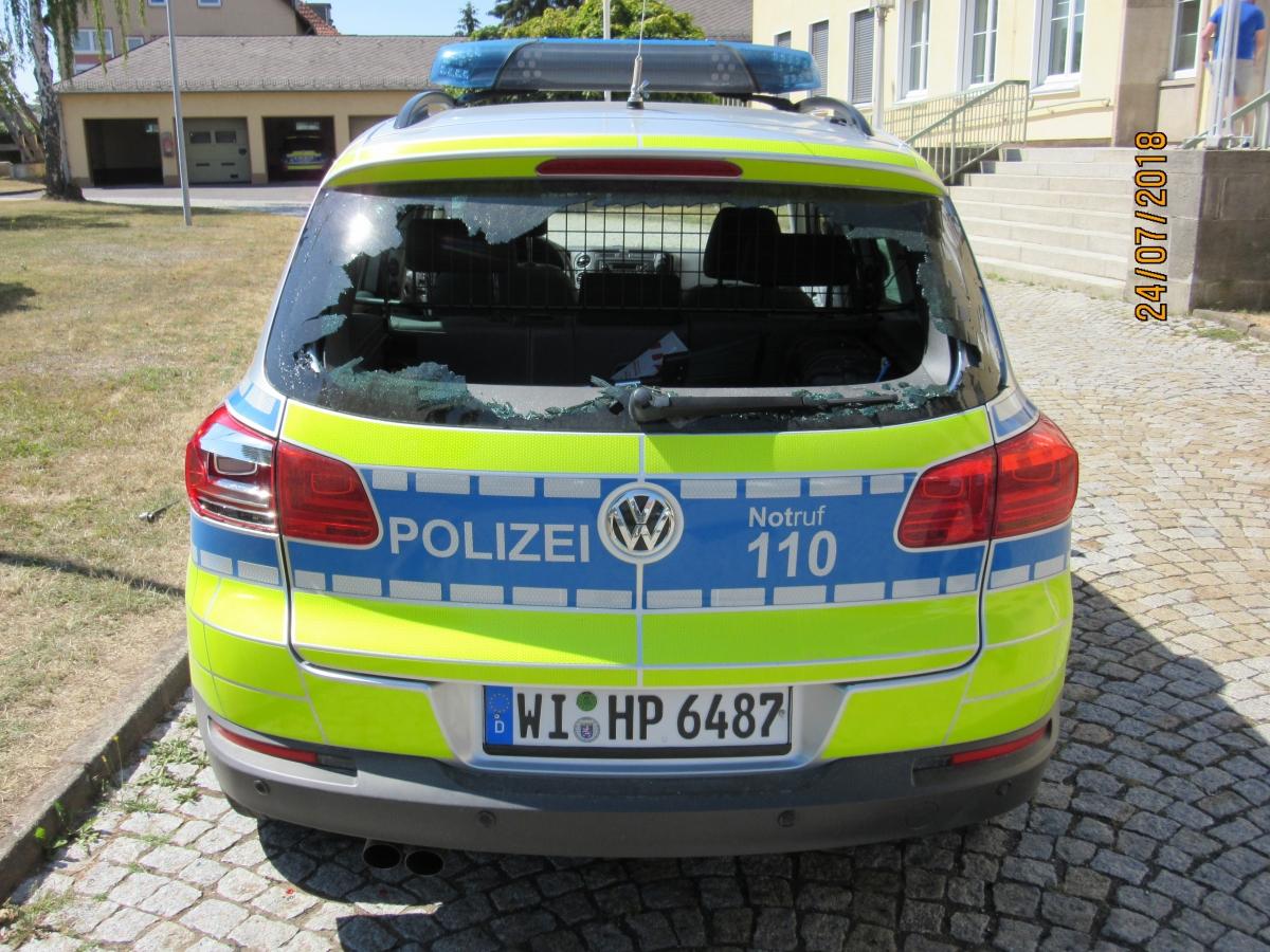Hessen Streifenwagen