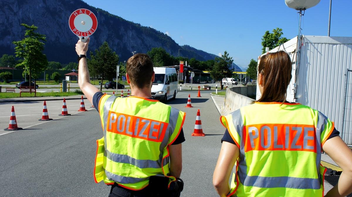 Grenzkontrolle Bundespolizei Rosenheim