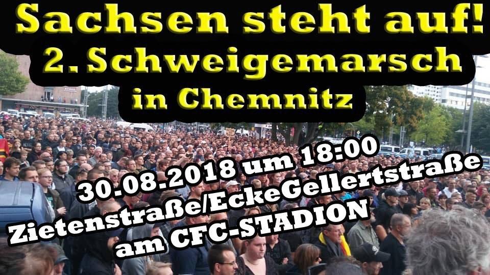 Chemnitz Schweigemarsch 3008