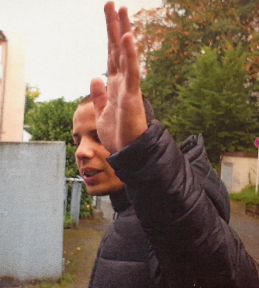 Lichtbild nach versuchtem Diebstahl in Wuppertal