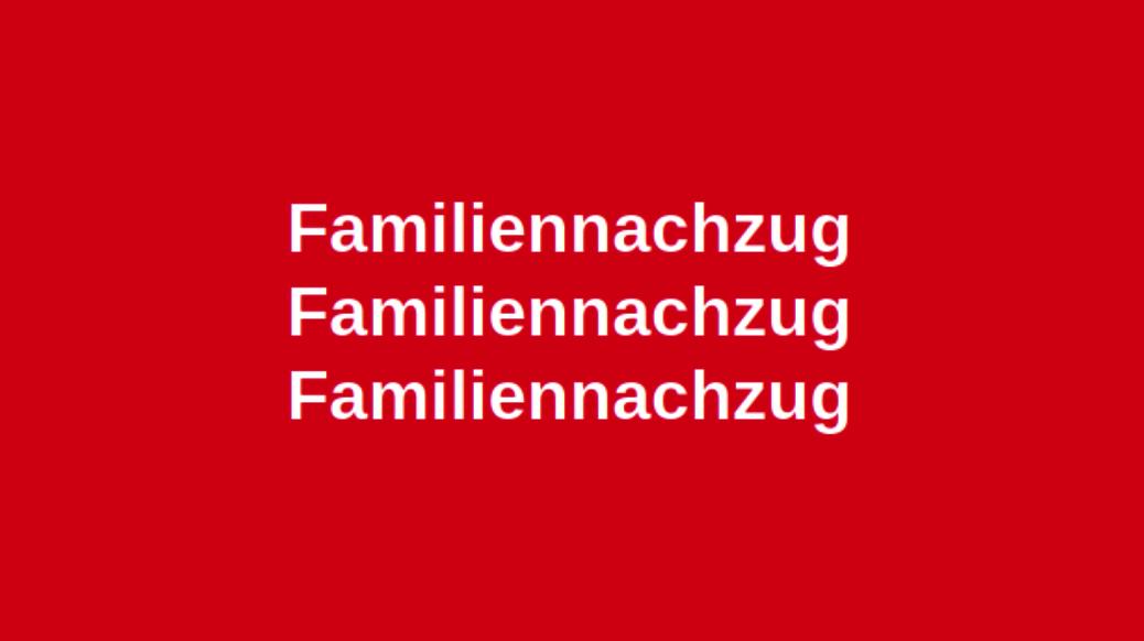 Familiennachzug