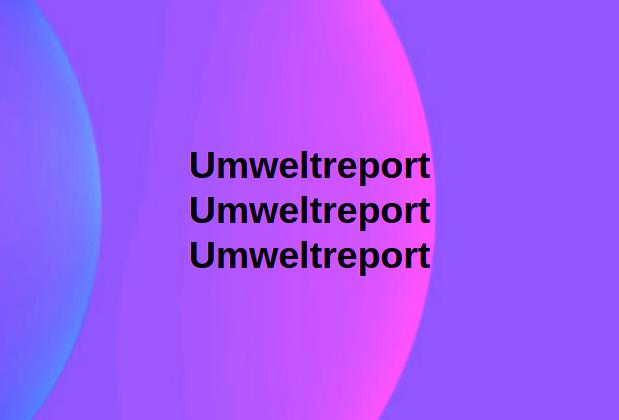 Umweltreport