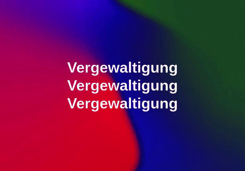 Vergewaltigung in Grevenbroich