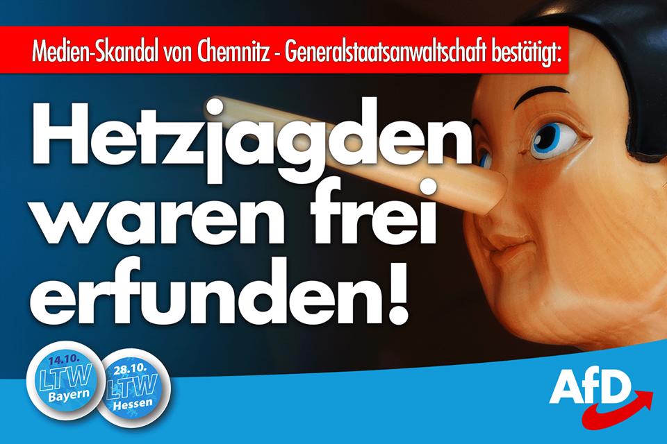 AfD deckt auf! Hetzjagden waren frei erfunden