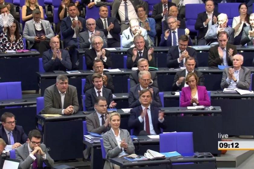 Bundestag.de Screenshot