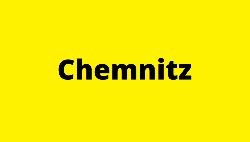 Chemnitz Ortschild
