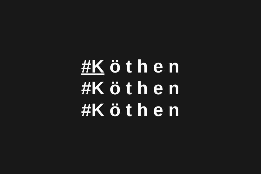 #Köthen