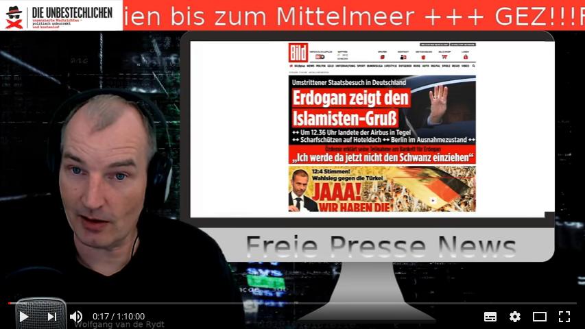 Nachrichtensendung - Freie Presse News