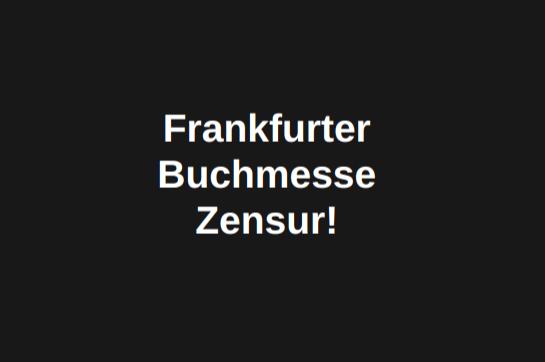 Frankfurter Buchmesse Zensur